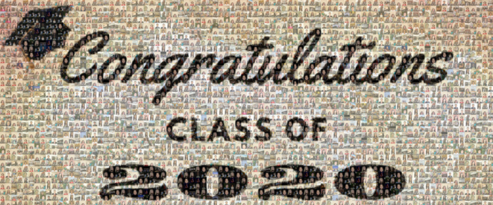 Banner for all graduates
