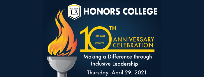 Honors College Anniversary event