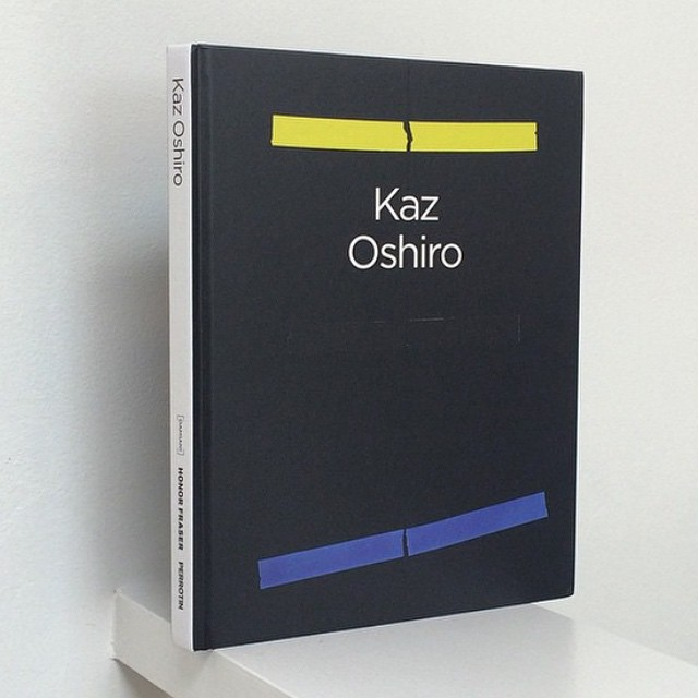 Photograph of Kaz Oshiro's new book