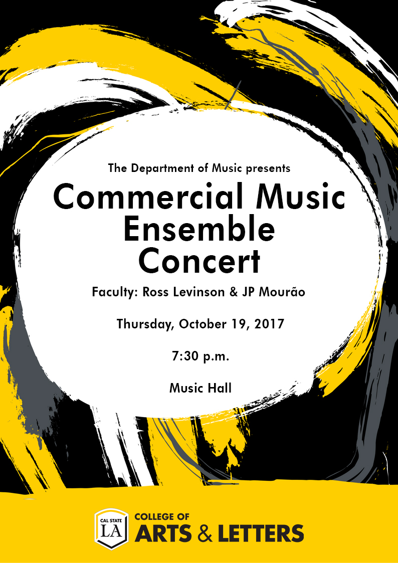 Commercial Music Ensemble Concert