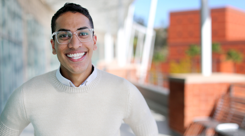 Graduating Cal State LA student finds ways to lead', spotlighting Cal State LA- Television Film and Media Studies Major also minoring in Communications and Entertainment Marketing, Dylan Gunaratne!