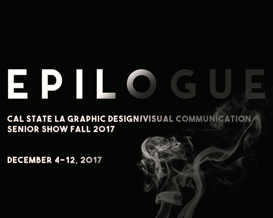 Fall 2017 Graphic Design/Visual Communication Senior Project Exhibition
