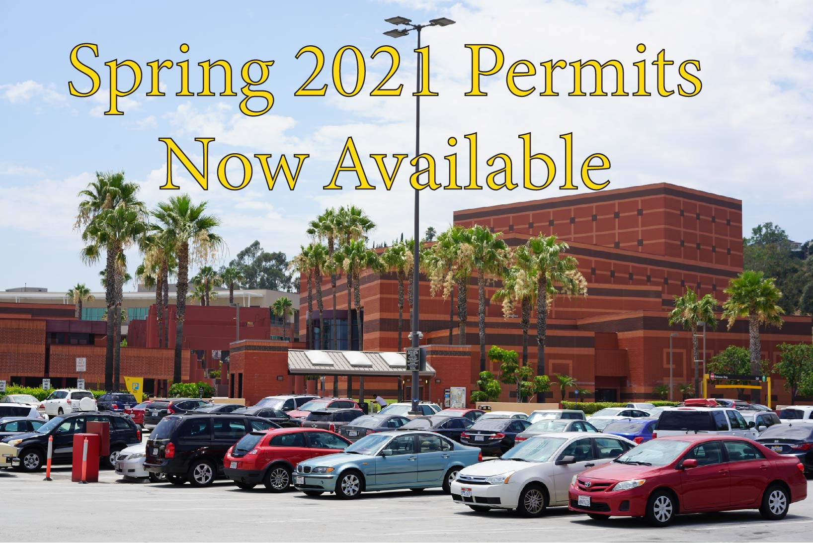 Cal State LA Spring 2021 permits now available.