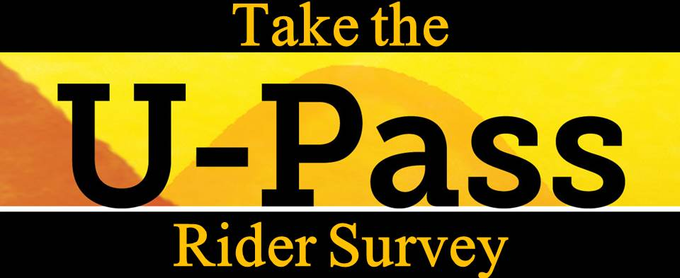 Take the U-Pass Rider Survey