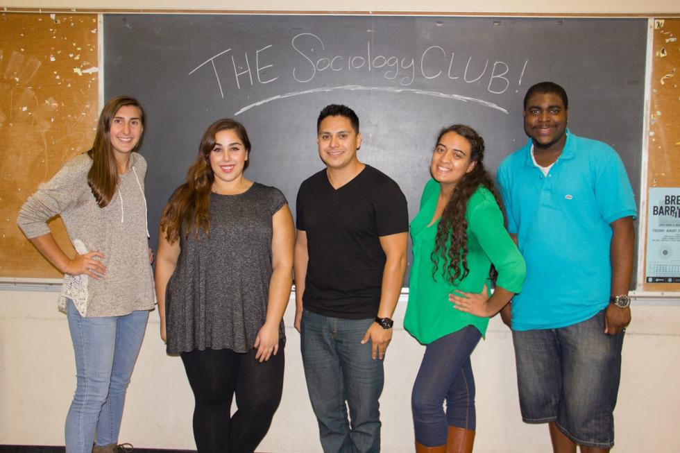 Sociology Club Officers 2016-17