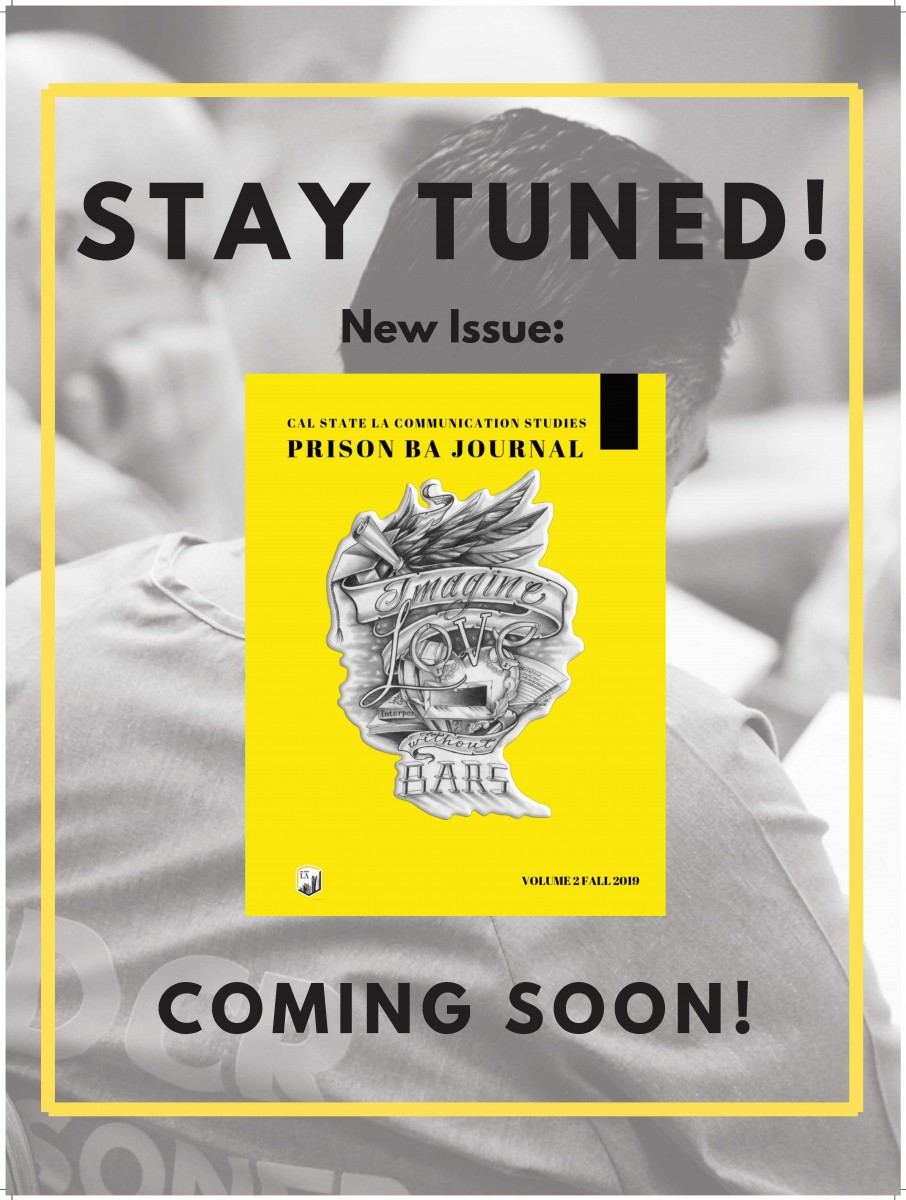 Stay Tuned! New Issue of the Prison BA Journal