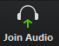 join audio button